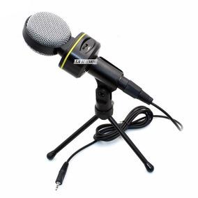 Microfone Condensador Profissional Gravação Celular Youtube
