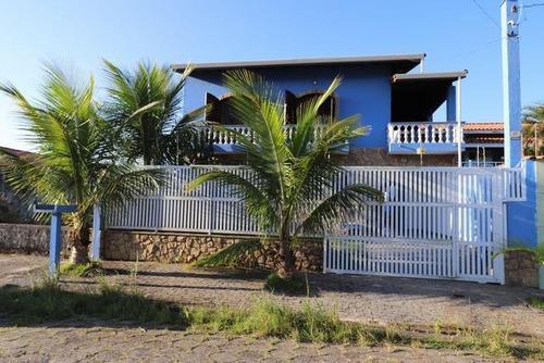 Casa Em Balneário Três Marias, Peruíbe/sp De 200m² 5 Quartos À Venda Por R$ 580.000,00 - Ca530793