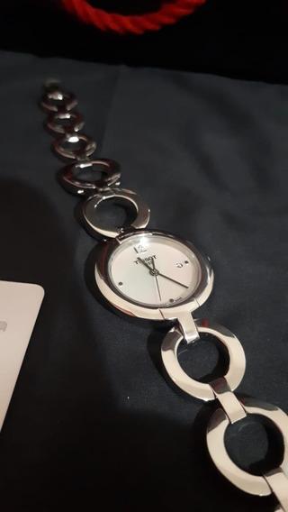 Relógio Tissot De Pulso T-trend Pinky - Original!