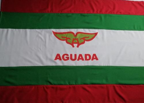Imagen 1 de 2 de Bandera De Aguada De Tela Mide 1.00×0.60 Mts