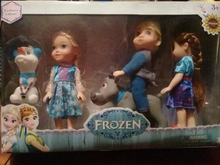 Muñecos Frozen Por 5 Un Super Oferta