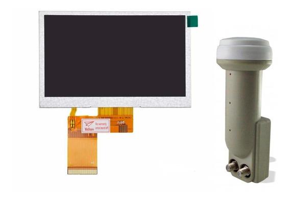 Display Satlink Ws 6960 6999 + Lnb Duplo Universal Original