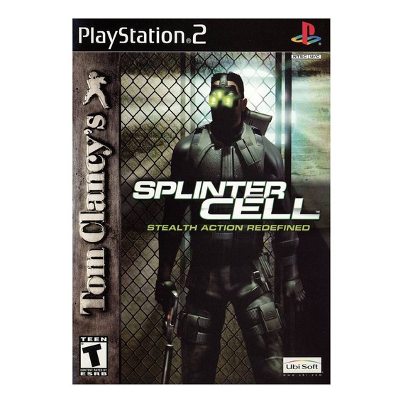 Jogo Mídia Física Splinter Cell Stealth Action Redefined Ps2