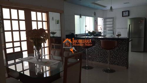Sobrado Com 3 Dormitórios À Venda Por R$ 480.000,00 - Jardim Maria Clara - Guarulhos/sp - So0559
