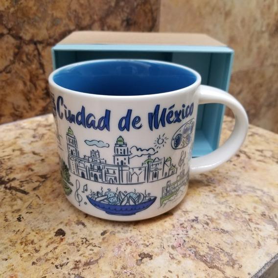 Ciudad De Mexico Taza Starbucks Cdmx / City Mug