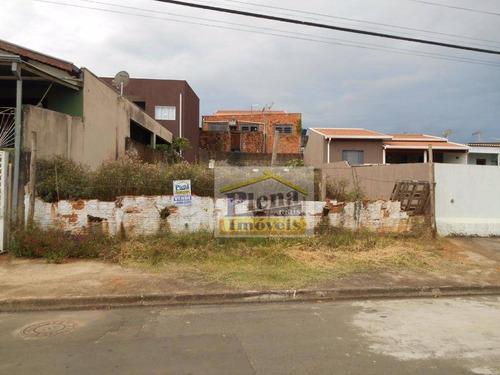 Terreno Residencial À Venda, Vila Real Continuaçao, Hortolândia. - Te0535