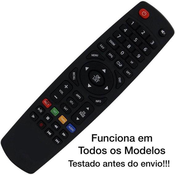 Controle Remoto D-u-o Para Receptor Sat/oi Tv Igual Novo