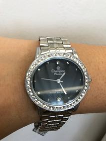 Relógio Champion Feminino Aço Ch25712k