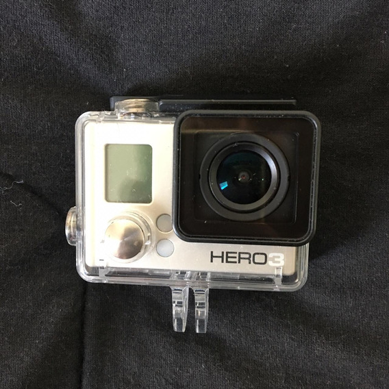 Câmera Filmadora Gopro Hero 3 + Tanque A Prova D Água!