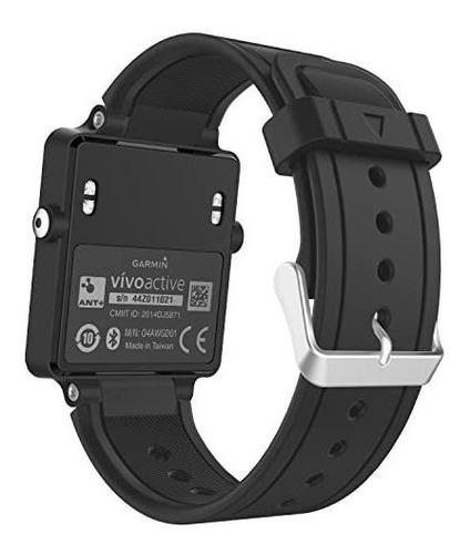 Imagen 1 de 8 de Moko Banda De Reloj Compatible Con Garmin Vivoactive, La Sus
