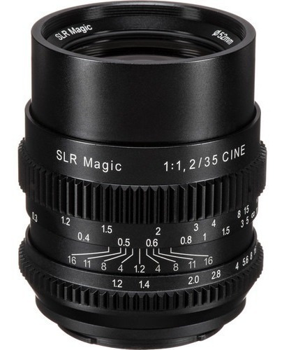 Lente Slr Magic Cine 35mm F/1.2 Fe P/ Sony E-mount Nova