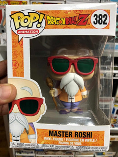 Funko Pop Anime Dragón Ball Master Roshi #382 Original