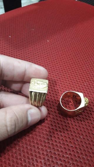 Anel Em Ouro (14.07 Gr)