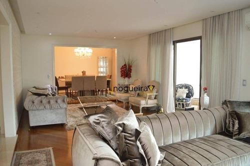 Imagem 1 de 30 de Apartamento Com 4 Dormitórios À Venda, 286 M² Por R$ 3.000.000,00 - Campo Belo - São Paulo/sp - Ap15880