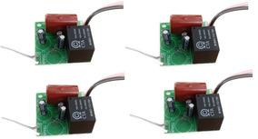 Circuito Kit Com 4 Módulos Temporizador Trava Elétrica Agl