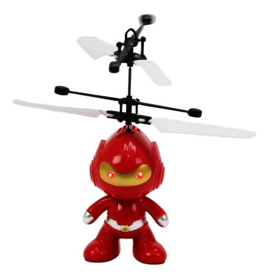 Robô De Brinquedo Infantil Voador Infravermelho