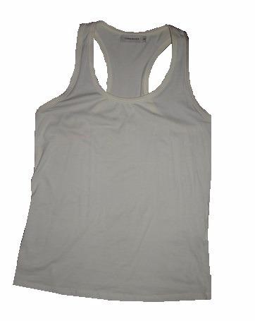 Remera Musculosa Cuesta Blanca Natural 46 Usada Envío Gratis