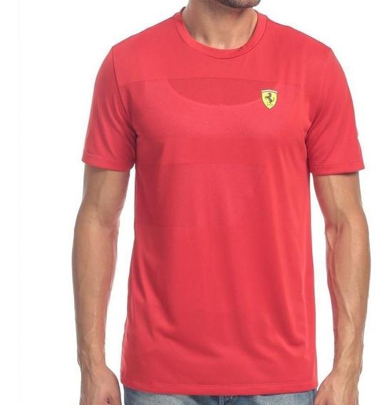 Camiseta Ferrari Sf2 Vermelha Original Puma