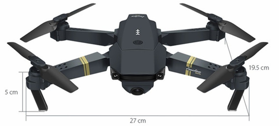 Eachine E58 Wifi Fpv 2mp Selfie Drone Quadricoptero