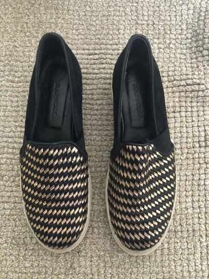Panchas Rapsodia - Talle 39 - Color Negro - Zapatillas