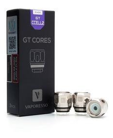 Coil Gt Ccell2 Vaporesso - Kit Com 3 Unid. Promoção Original