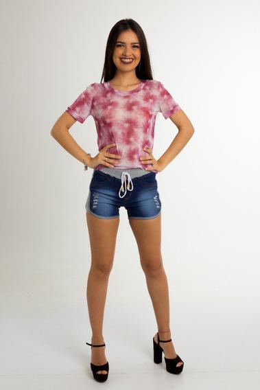 Conjunto 3 Blusinhas Roupa Feminina Tule Transparente Croped Kit De Blusas Femininas Em Atacado Tule Em Quantidade