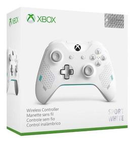 Controle Xbox One Sport White P2 Novo Original Lacrado