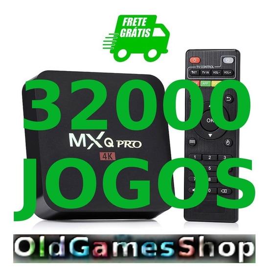 Tv Box Android Emuladores +32000jgs Frete Gratis Vale A Pena