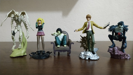 5 Action Figures - Death Note