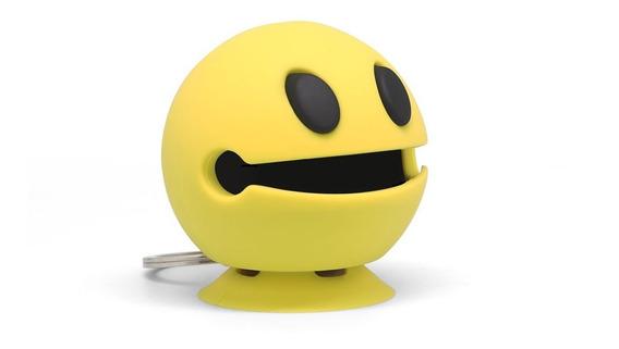 Parlante Bluetooth Emoji Emoticon Ventosa Llavero Smile Gato