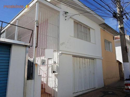 Imagem 1 de 12 de Casa, Centro - Itu Sp - Ca1170