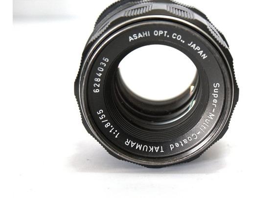 Lente Asahi Takumar 55mm 1.8 Retro Coleção Tudo Funcionando