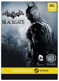 Batman Arkham Origins Blackgate Deluxe Pc Steam Key Envio Já