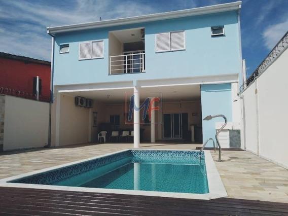 Ref 10.450 Casa Mobiliada Cond. Fechado Balneário Dos Golfinho , 4 Suítes, 5 Vgs, 260 M² A.c. 10 X 25 M² Terreno, Piscina. Aceita Permuta. - 10450