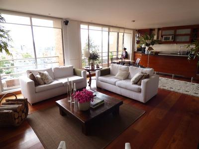 Arriendo Apartamento Amoblado En El Nogal Bogota