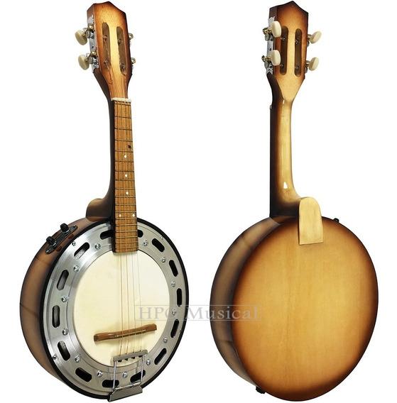 Banjo Elétrico Acústico Clave Sonora Sombreado