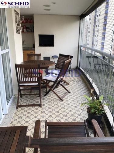 Imagem 1 de 13 de Apartamento 3 Suites 3 Vagas 173m  Lindo No Miolo Davila Mascote, São Paulo - Mc9162
