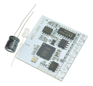Modulo Amplificador Stereo Bluetooth Krc-86b V4.2