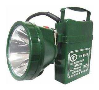 Linterna Foco Led Recargable Mano Y Cabeza 25w Ml2901