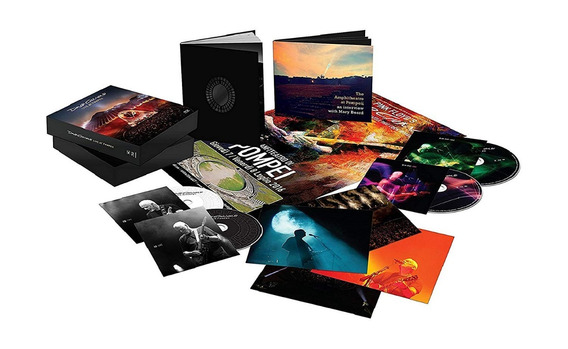 David Gilmour Live In Pompeii Bluray Pronta Entrega