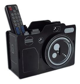 Porta Lapis E Retrato Camera Fotografica