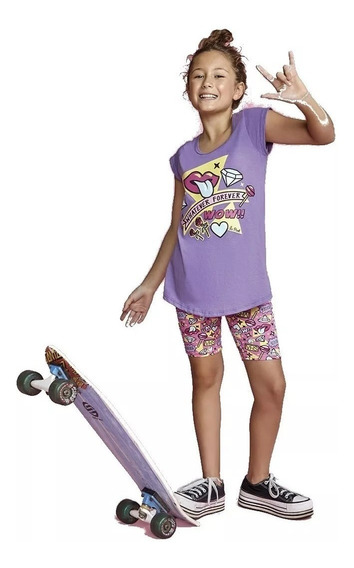 Pijama Nena Musculosa Y Calza 11423 So Pink