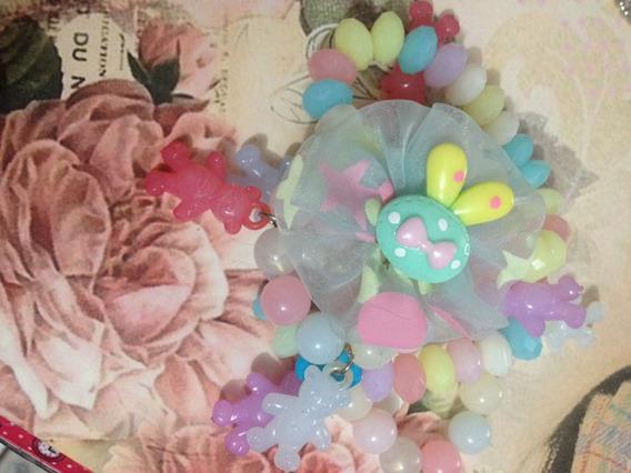 Conjunto De Pulseiras Ursinho Candy Infantil