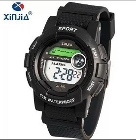 Relógio Xinjia Sports Xj-867 Natação Estilo G Shock-original
