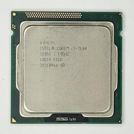 Processador 2° Geração Intel I3 2100, 3mb Cache, 3.10 Ghz