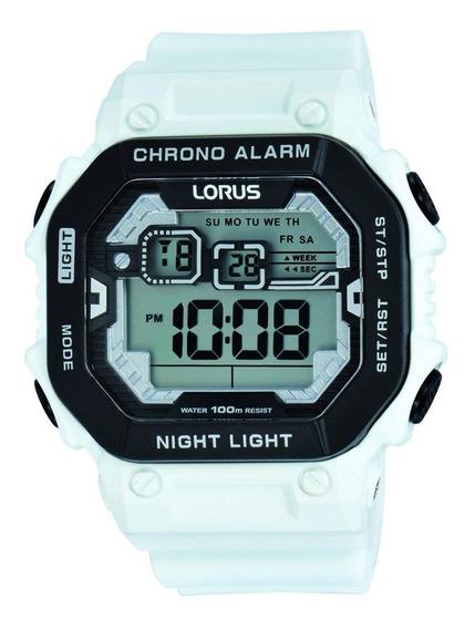 Reloj Digital Lorus By Seiko R2397kx9 Alarma Luz Calendario