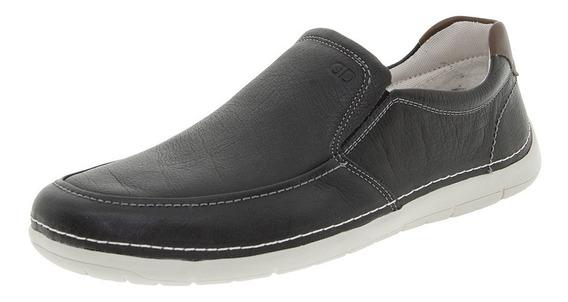 Sapato Masculino Sharp Preto Democrata - 175101