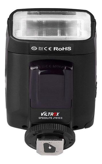 Flash Viltrox Jy 680a Canon & Nikon Drsl Universal Sapata