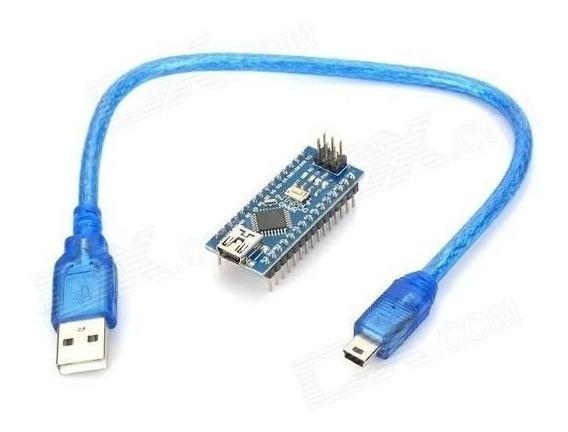4 X Arduino Nano 3.0 Atmega328 328 Ch340 Com Cabo