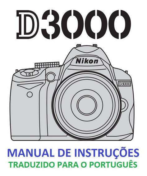Manual Em Português Nikon D-3000